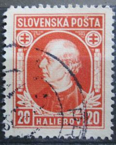Slovensko 1939 Andrej Hlinka Mi# 37 0098