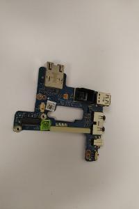 USB + AUDIO + Lan port z DELL E6510