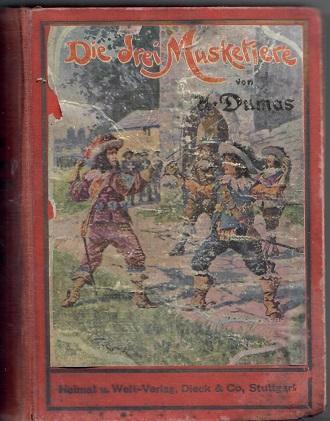 Die drei Musketiere I. II. - Dumas - Knihy