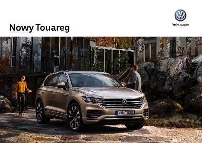 Volkswagen Vw Touareg prospekt model 2019 PL