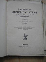 Zeměpisný atlas Brunclík - Machát 1930