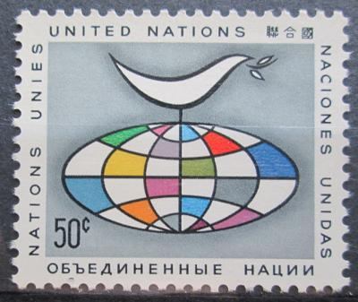 OSN New York 1964 Holubice míru Mi# 106 0096