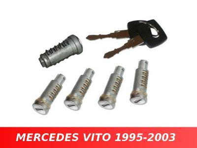Vložky spínací skříňky dveří MERCEDES VITO W638