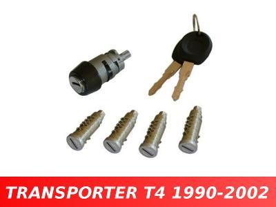 Vložky spínací skříňky dveří VW TRANSPORTER T4 IV