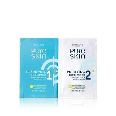 Peeling a čisticí maska 2 v 1 Pure Skin Oriflame 32652
