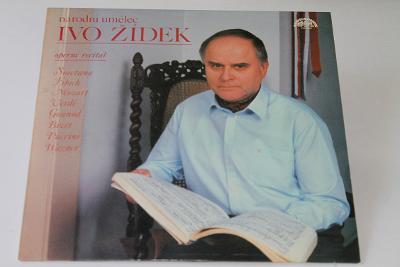 LP - Ivo Žídek - Operní Recitál     (d9)