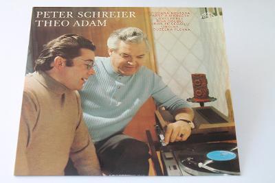 LP - Peter Schreier, Theo Adam  (d16)
