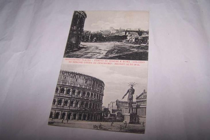 ITÁLIE ROMA ŘÍM  /pd1/ - Pohlednice