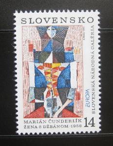 Slovensko 1993 Evropa CEPT Mi# 174 0533