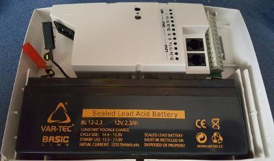 Ericsson BML záložní zdroj/měnič 115-230V na 48V DC (záložní aku 12V)