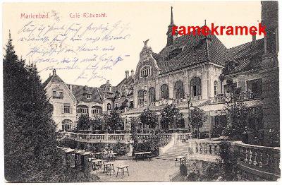 Mariánské Lázně 1914 Cafe (Cheb Kynžvart Planá)