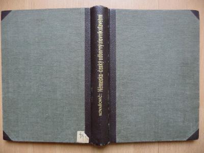 Německo-český odborný slovník stavební - J. Kovařovic - 1941
