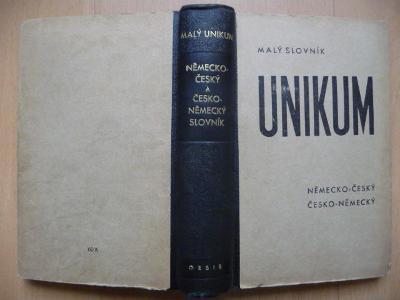 Malý Německo-český a Česko-německý slovník Unikum - Orbis 1943