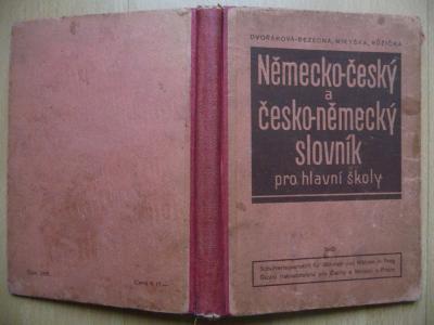 Německo-český a česko-německý slovník pro hlavní školy - 1942