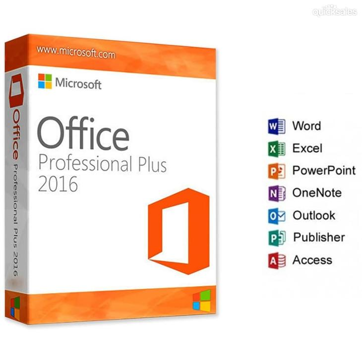 microsoft office office 2016 professional plus