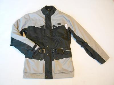 Textilní bunda vel. M- odvětrávání, chrániče