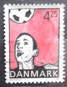 Dánsko 2003 Fotbal Mi# 1331 0009