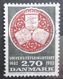 Dánsko 1982 Univerzitní knihovna Mi# 766 0009