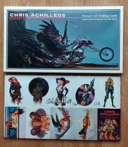 Sběratelské kartičky s autogramem - CHRIS ACHILLEOS (SERIES TWO)