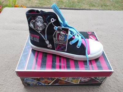 Dětské kotníčkové boty - kecky Monster High,  vel. 35