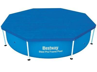 Bestway Plachta na bazén 244cm + STICKY MAT ZDARMA