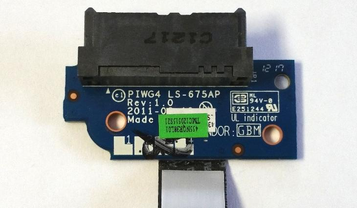ODD board LS-675AP z Lenovo G780 - Notebooky, příslušenství