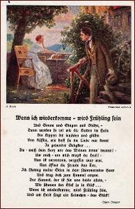 Žena * muž, zahrada, krajina, báseň * M6342