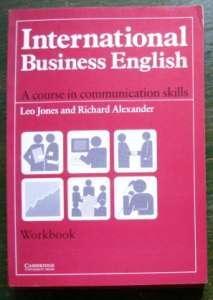 2x International Business English (Cambridge) Students Book + Workbook