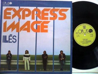 LP v perfekt stavu : ILLÉS - EXPRESS IMAGE (1980 OPUS)