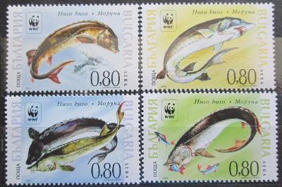 Bulharsko 2004 Ryby, WWF Mi# 4678-81 Kat 7€ 0700