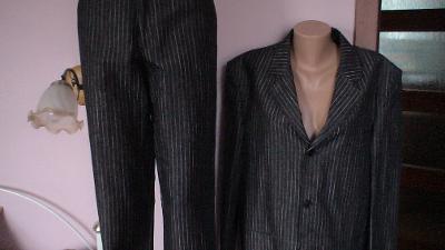 NOVÝ luxusní oblek zn. Koutný /3990 Kč / jako Blažek