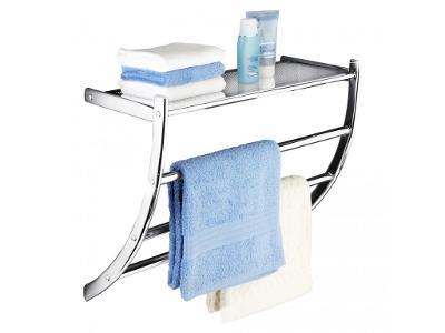 Věšák na ručníky PASCARA + koupelnová police