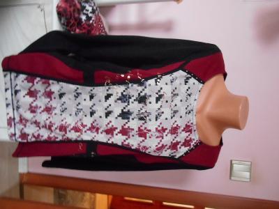 LUXUSNÍ triko-mikina -svetřík zn. BAGORAZ NOVÉ 1900 Kč
