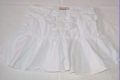 Pěkná bílá sukně s knoflíky Only, vel. S