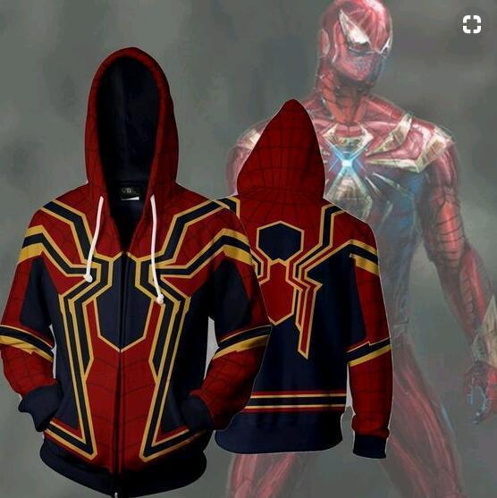 080e9e07ae Avengers   Spider-Man - mikina se zipem a kapucí UNISEX