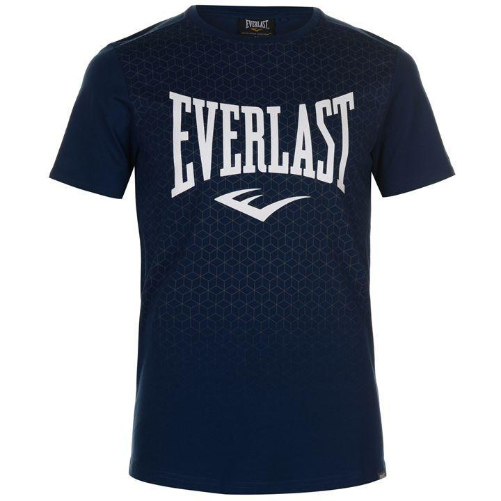 886abb8a5 Pánské tmavě modré tričko EVERLAST, velikost XL   Aukro