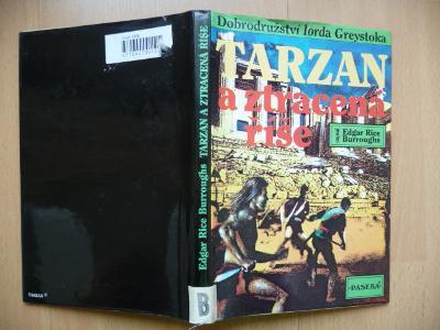 TARZAN A ZTRACENÁ ŘÍŠE - Edgar Rice Burroughs - PASEKA 1994