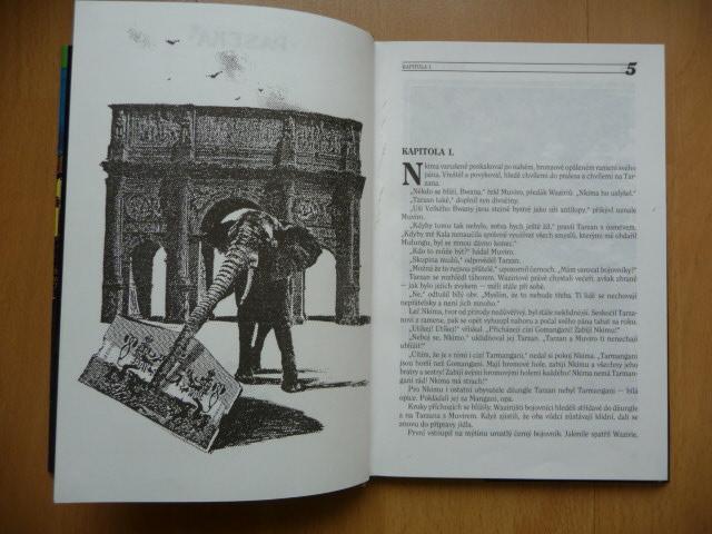 TARZAN A ZTRACENÁ ŘÍŠE - Edgar Rice Burroughs - PASEKA 1994 - Knihy