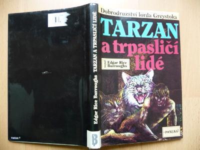 TARZAN A TRPASLIČÍ LIDÉ - Edgar Rice Burroughs - PASEKA 1994
