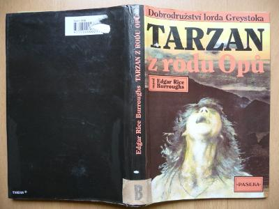 TARZAN Z RODU OPŮ - Edgar Rice Burroughs - PASEKA 1991