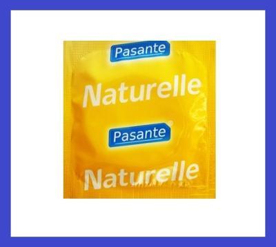 Kondomy PASANTE NATURELLE - pro větší požitek 1 ks