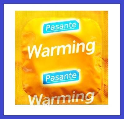 Kondomy PASANTE WARMING - hřejivé 1 ks