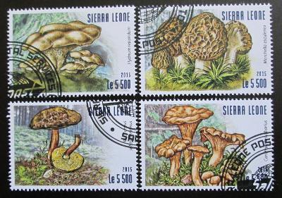 Sierra Leone 2015 Houby Mi# 6312-15 Kat 10€ 0637