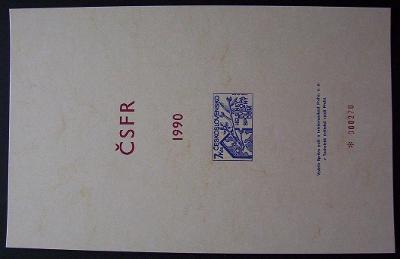 PŘÍLOHA ROČNÍKOVÉHO ALBA 1990 - HELSINKI EVROPA POF. 2945 (T8842)