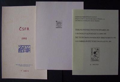 PŘÍLOHY Z ROČNÍKOVÉHO ALBA 1989,1990,1991 - VÝHODNĚ (T8017)
