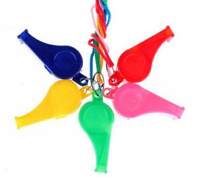 Plastová sportovní píšťalka se šňůrkou pro rozhodčí a trenéry -5 barev