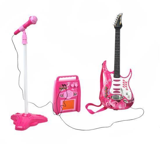 Kytara + mikrofon + zesilovač + STICKY MAT ZDARMA  8274636bf4