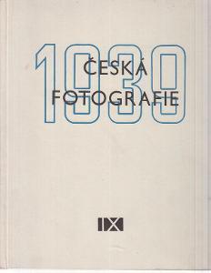 Česká fotografie 1939