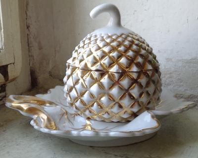 Doza ananas na listu Aich 19.stol.