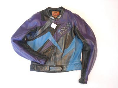 Kožená bunda iXS vel. 106- chrániče